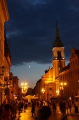Toruń wieczorową porą